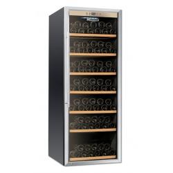 Vitrina de vinuri Tecfrigo Sommelier 43/1, 51 sticle, 1 zona temperatura, negru