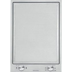 Plita incorporabila Barazza B_Free, 36 cm, plita gaz, 2 arzatoare, aprindere electronica, sistem siguranta Stop-Gaz, inox