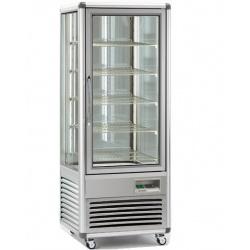 Vitrina frigorifica de cofetarie Tecfrigo Snelle 505 BTV BIS, capacitate 500 l, temperatura +5/-18°C, argintiu