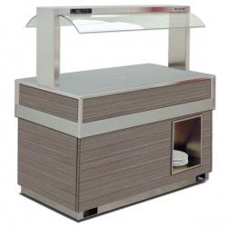 Vitrina frigorifica rece FUTURA BRINA 4, temperatura -1/0C, lemn pin