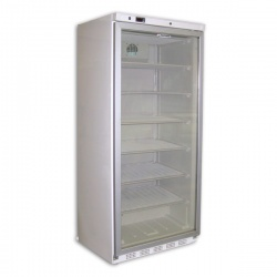 Vitrina frigorifica Tecfrigo POLO 350 GBT, capacitate 387L, temperatura -16/-20°C, alb