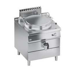 Marmita pe gaz , Ata Italia K4GPDS1011, 100 litri, încălzire directa