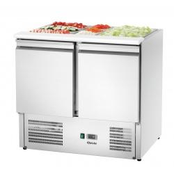 Dulap frigorific 900T2 + GL Bartscher pentru salate