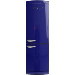 Combina Retro Bompani, Clasa A+, 316 litri, Latime 60 cm, Gri