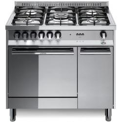 Aragaz Lofra Maxima MT96GV/C, 90x60 cm, gaz, 5 arzatoare, grill electric, timer, cuptor gaz, aprindere electronica, inox