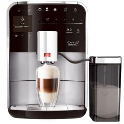 Espressor automat Melitta Caffeo Barista T, Sistem Cappuccino, Autocuratare, 15 Bar, 1.8 l, Argintiu